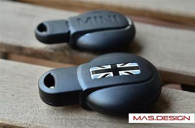 Black Union Jack style Protective key case for MINI COOPER S JCW F54 F56 F55