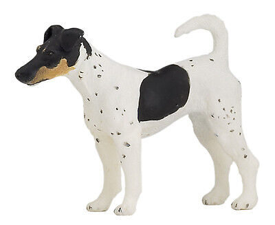 Papo 54017 Fox Terrier Dog Toy Canine Animal Replica Figurine - NIP