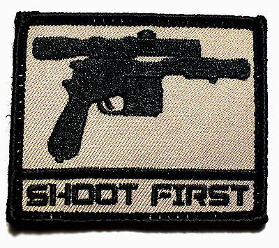 Blaster Patch - Shoot First