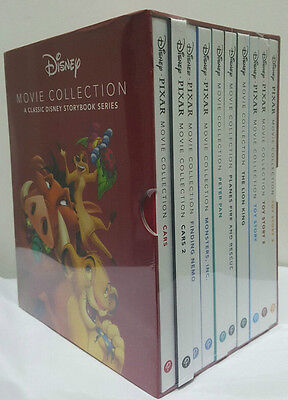 Disney Movie Collection 10 Books Box Set Classic Storybook Series Kids Gift NEW