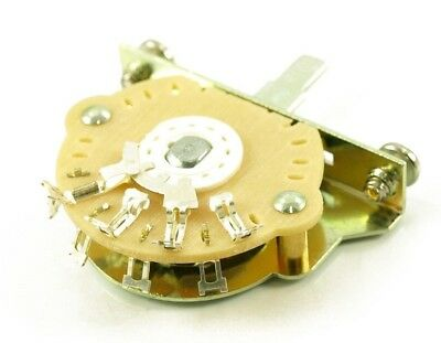 Pro Series Oak Grigsby Switch ~ 3-Way Pickup Selector ( For Fender Strat / Tele)