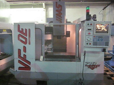 Haas VF-0E CNC Machining Center w/ 4TH axis Pre-Wire