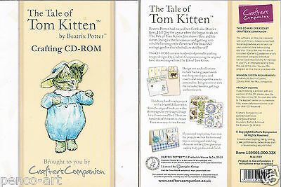 Handwerker Companion Die Geschichte Tom Kitten Beatrix Potter Crafting CD-Rom