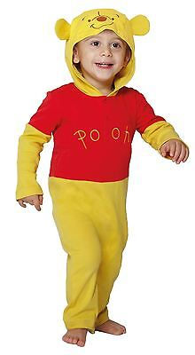 Toddlers Baby Disney Winnie the Pooh Romper Play Sleep Suit Fancy Dress Outfit