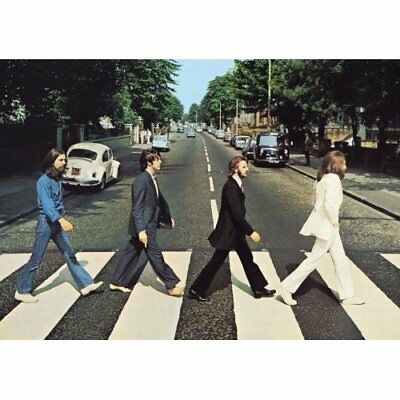 The Beatles Abbey Road Album Cover Postcard 100% Genuine Official Merchandise