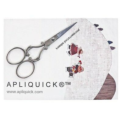 Apliquick microserrated scissors great for thumbnail works