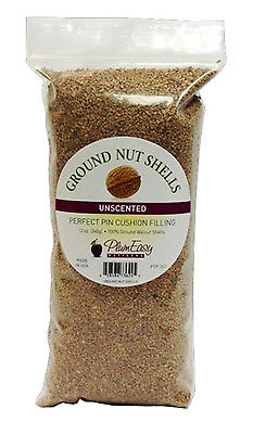 Ground Walnut Shells -12 oz package for pincushion filling