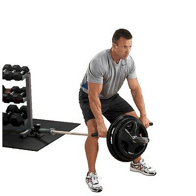 Body Solid Landmine Pivoting T-Bar Row For Strength And Cross Training