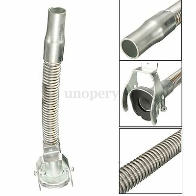 Flexible Metal Jerry Can Pouring Spout Nozzle Leak Free Seal For 5/10/20L Silver