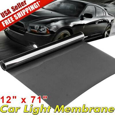 "16"" x 48"" Red Car Truck Headlight Taillight Fog Light Vinyl Film Tint Wrap Sheet"