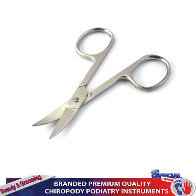 Toenail Scissors Curved Foot Care Manicure Stainless Steel Nail Scissor Podiatry