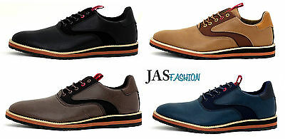 Mens JAS Fashion Casual Smart Shoes Lace Up Formal Work Office Wedding Size UK