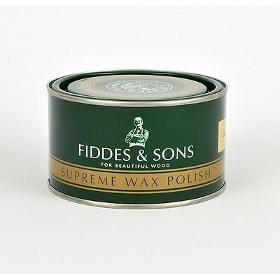 Fiddes Supreme Wax Polish 400Ml Tin 8 Shades Available *official Stockist*