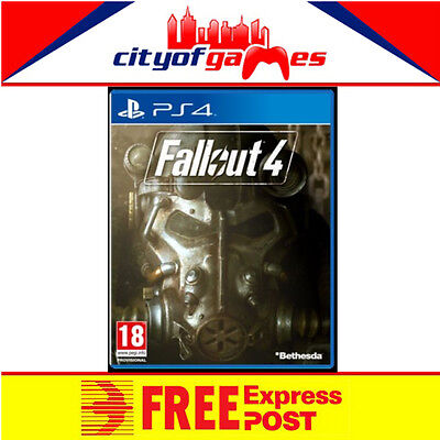 Fallout 4 PS4 Brand New & Sealed Free Express Post In Stock