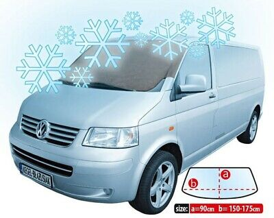 VAN ANTI FROST SNOW ICE SUN WINDSCREEN COVER PROTECTOR fits:Ford Transit
