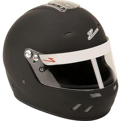 Zamp RZ-58 SA2015 Fully Enclosed Racing Helmet, White, Size Large