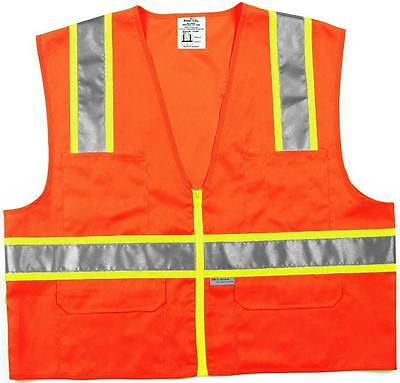 MSA Safety CSURVOL Class II Surveyor Safety Vest Case of 6