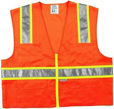 MSA Safety CSURVOX2 Class II Surveyor Safety Vest Case of 6