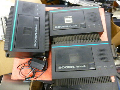 LOT OF 3 - Bogen ProHold  (2 - PRO-4, 1- PRO8) w/ ONLY 1 Power supply