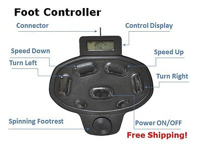 HASWING FOOT PEDAL CONTROLLER for CAYMAN 55 lbs 80 lbs