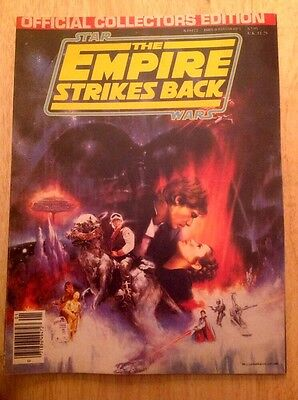 Vintage 1980 Star Wars Empire Strikes Back Magazine Official Collectors Edition