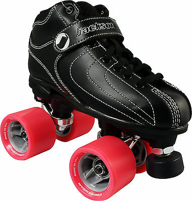 Jackson Vibe Mens Ladies Quad Fashion Roller Derby Speed Skates US Size 8