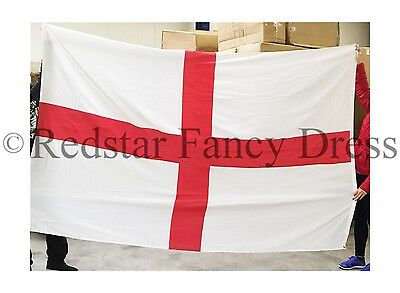 Giant 9Ft X 6Ft England St George Flag Official High Quality Denier Flag