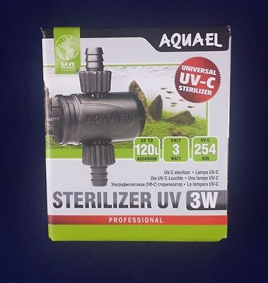 Aquael Sterilizer AS-3 W UVC Sterilisator