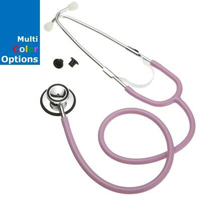 NEW ADC ULTRA SENSITIVE DUAL HEAD STETHOSCOPE NURSING DUALHEAD #670 Multi Colors