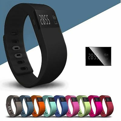 Bluetooth Smart Wrist Watch TW64 Pedometer Fitness Tracker Bracelet for Android