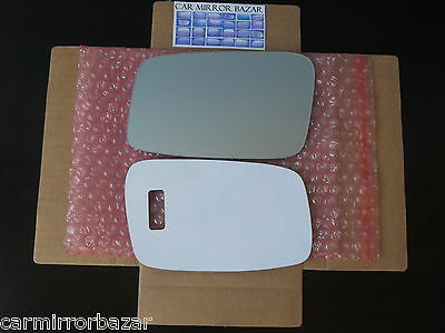 511LFH FLAT HEATED Mirror Glass BACKPLATE 850 C70 S40 S70 V40 V70 Driver Side
