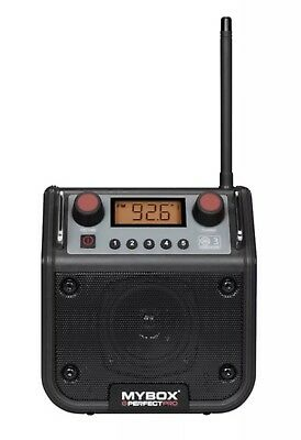 PERFECT PRO MYBOX FM SITE WORK RADIO 240volt