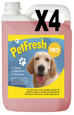 20L Baby Talc Pet Cattery Kennel Disinfectant Deodoriser Cleaner Fresh Odour Dog