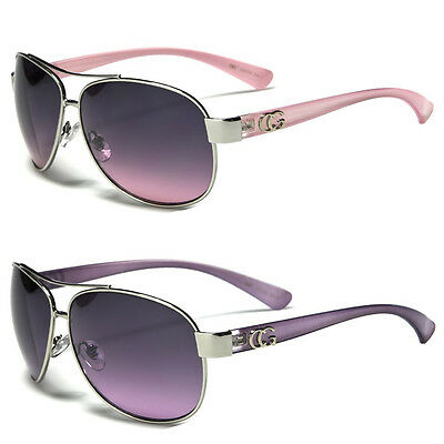 NEW CG Classic Retro Womens Fashion Metal Aviator's Vintage Designer Sunglasses