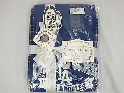 Los Angeles Dodgers Mlb Women / Ladies Sleepwear Pj Set By Concepts Sport F-89