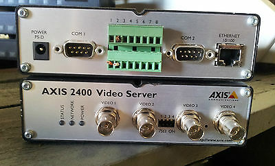AXIS 2400+ Video Server 4 ports 4 channel 0175-001-01