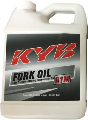 KYB USA Inc 01M Front Fork Oil - 1 Qt. 1 Quart 1300100101010 77-0606 3609-0037