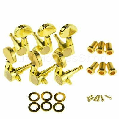 3L3R Guitar String Tuning Pegs Tuners Machine Heads Acoustic Electric Gold