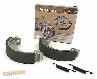 SIMSON SET Bremsbacken SR2 SR2E KR50 in NEU