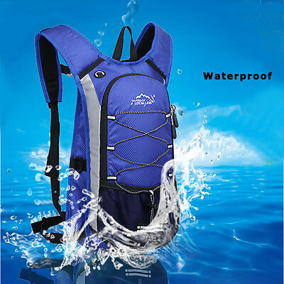 12L Hydration Pack Water Rucksack Backpack Bladder Bag Cycling Hiking Camping