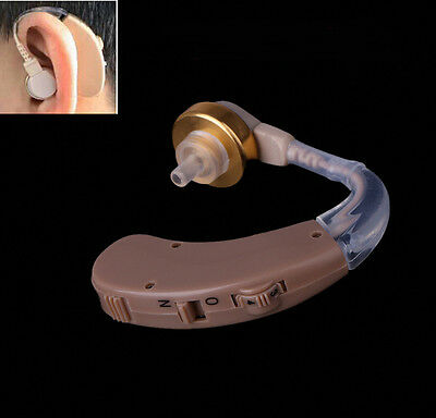 Best Mini Digital Hearing Aid Behind the Ear in Sound Amplifier with Batteries