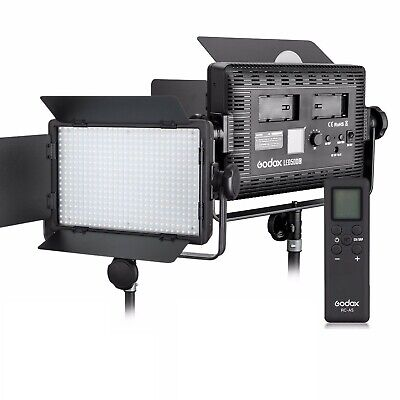 Godox LED500C (Lux: 2900) 3300K-5600K LED Video Continuous Light Lamp Panel