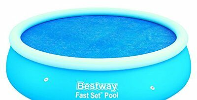 "Bestway 8 x 26"" Solar Pool Cover New Gift UK SELLER"