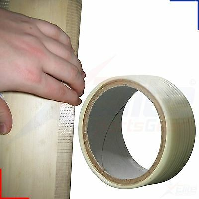 Cricket Bat Repair Self Adhesive Edge Protection Fibre Glass Tape 25mm 10m Roll