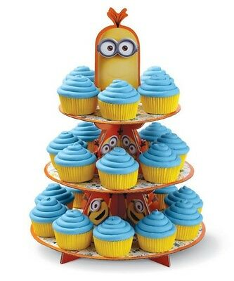Minions 3 Tier Party Cake Stand