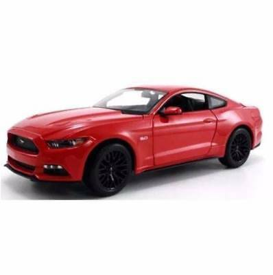 Diecast 1:18 2015 Model Ford Mustang GT Maisto Cars Kids Toys Car RED AUS NEW