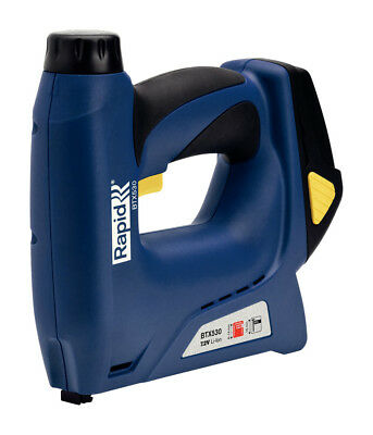 Rapid BTX530 Cordless Professional Electric Hand Tacker / Stapler (53 Series)