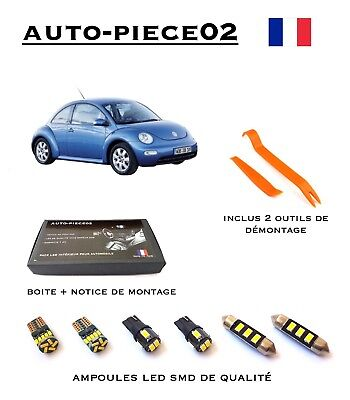 Pack FULL LED intérieur pour Volkswagen New Beetle
