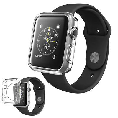 Funda Carcasa Gel Transparente Silicona Apple Watch / Sport / Edition 38 Mm.