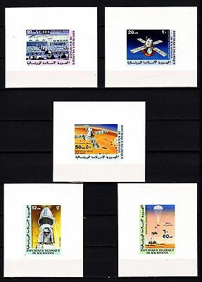 """Mauritania - 1977 """"Viking Mars Project"""" Imperforated (MNH) - Lot 3"""